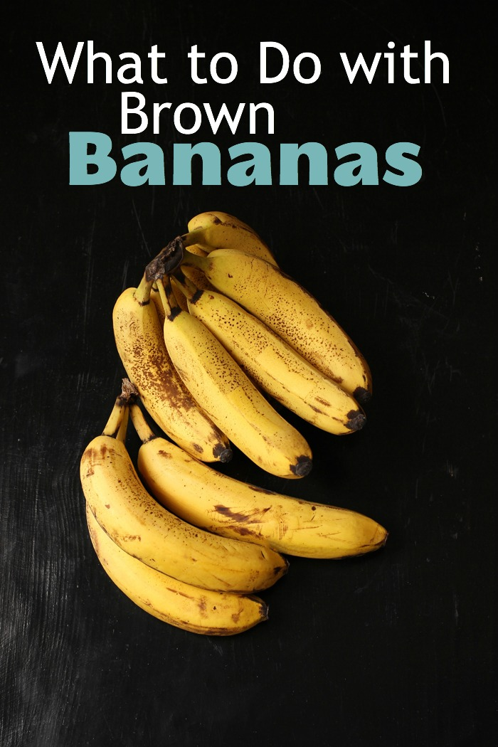 pinnable image of brown bananas on a black board