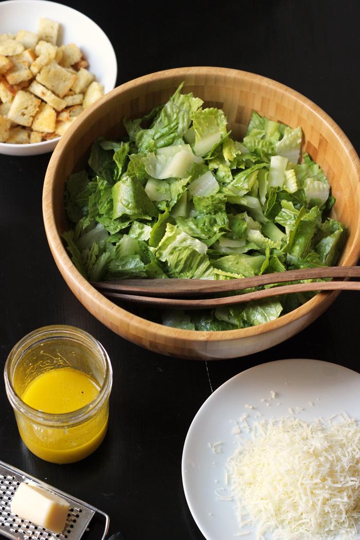 Caesar Salad Recipe | Good Cheap Eats