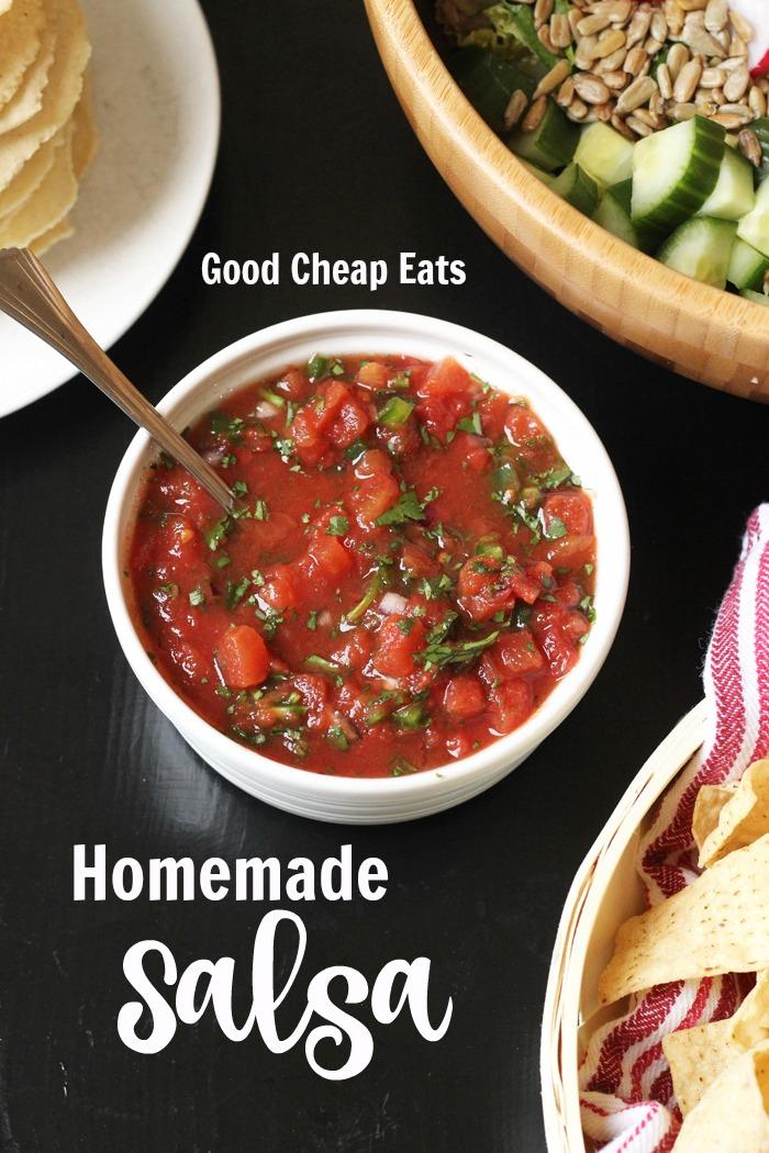Homemade Salsa Recipe | Good Cheap Eats