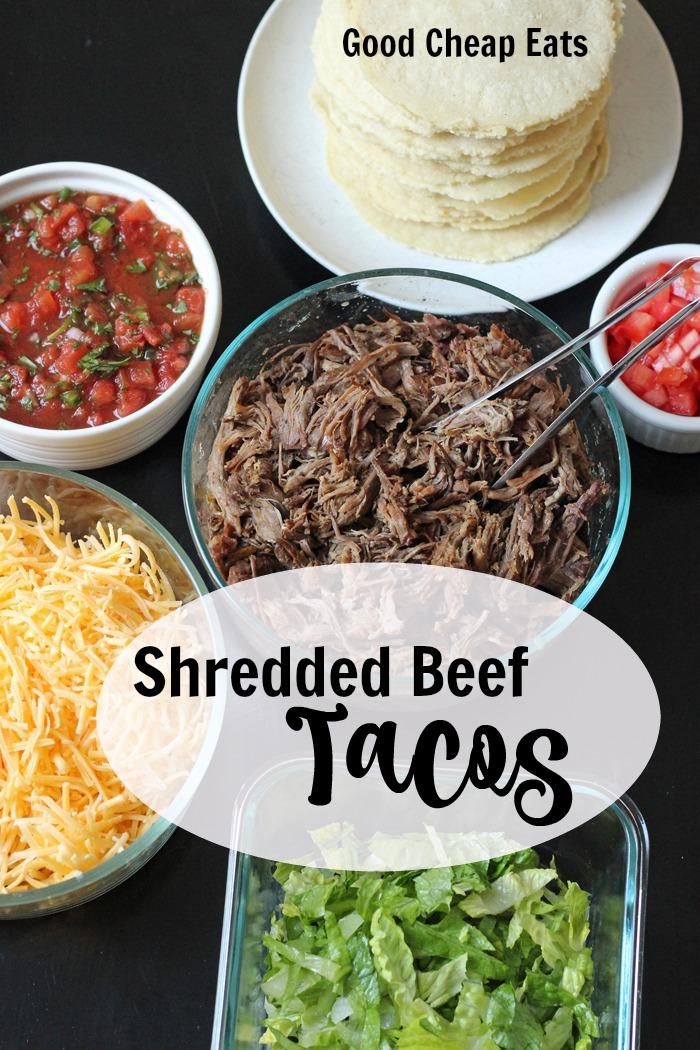 Shredded Beef Tacos: A Good Cheap Eat