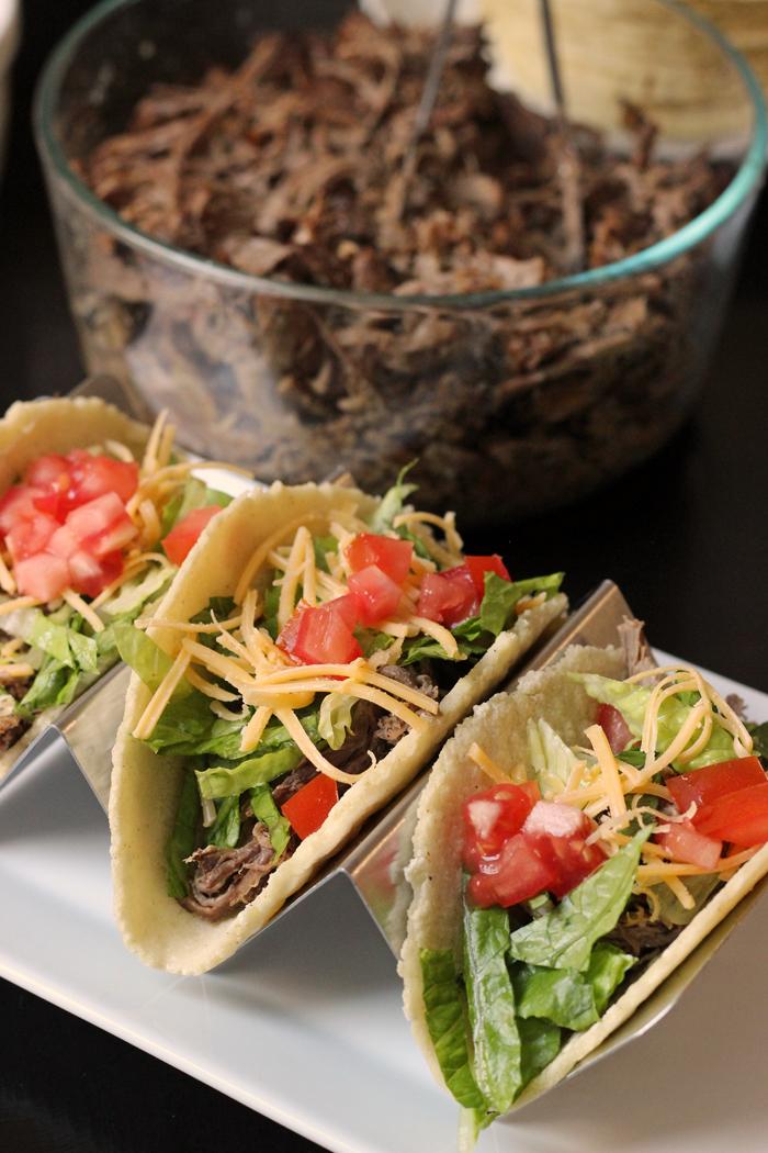 Shredded Beef Tacos | Good Cheap Eats