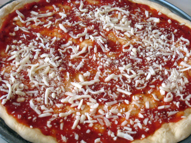 Basic Homemade Pizza Recipe   Good Cheap Eats