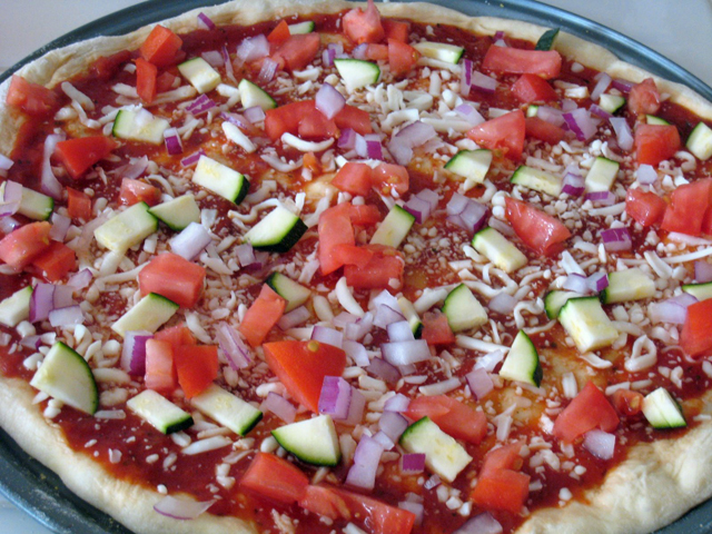 Basic Homemade Pizza Recipe | Good Cheap Eats