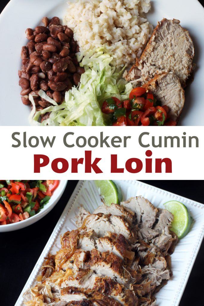 Cumin Pork Loin Roast PIN