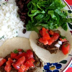 Salsa Verde Beef Tacos Good Cheap Eats