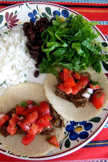 Salsa Verde Beef Tacos | Good Cheap Eats