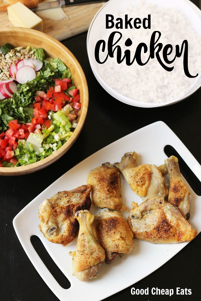 Baked Chicken | Good Cheap Eats