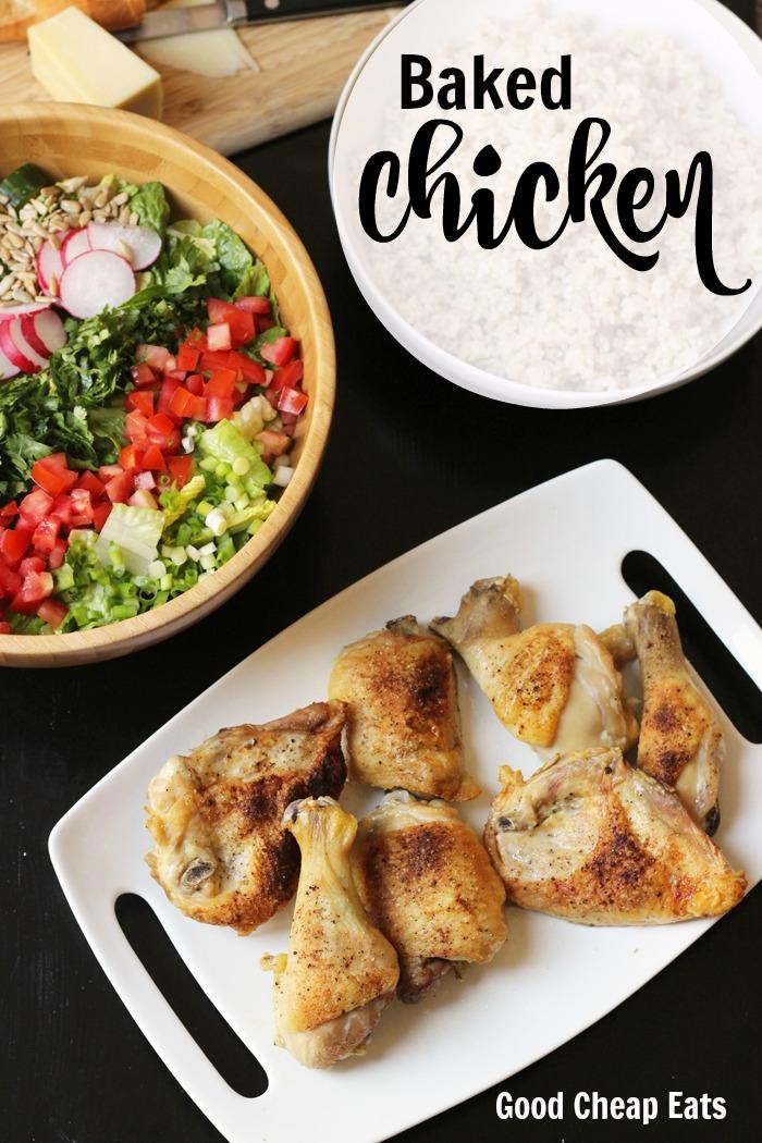 Baked Chicken | Good Cheap Eats
