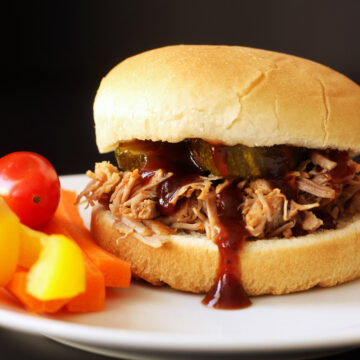 instant pot BBQ pork sandwich