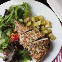 Grilled Chicken in Buttermilk Yogurt Marinade