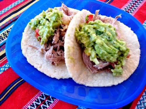 Carnitas Soft Tacos