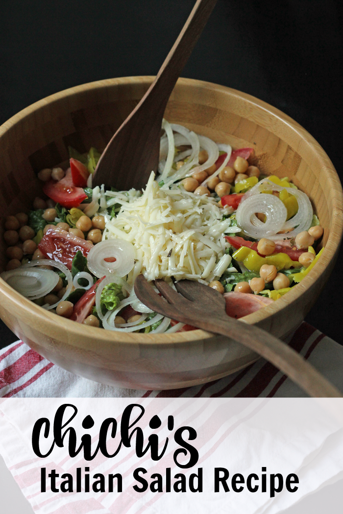 A bowl of Salad topped with Mozzarella