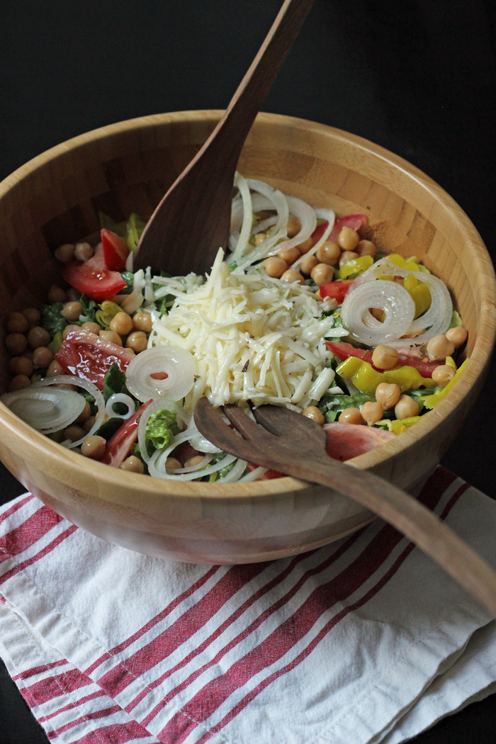 A bowl of ChiChi\'s Salad