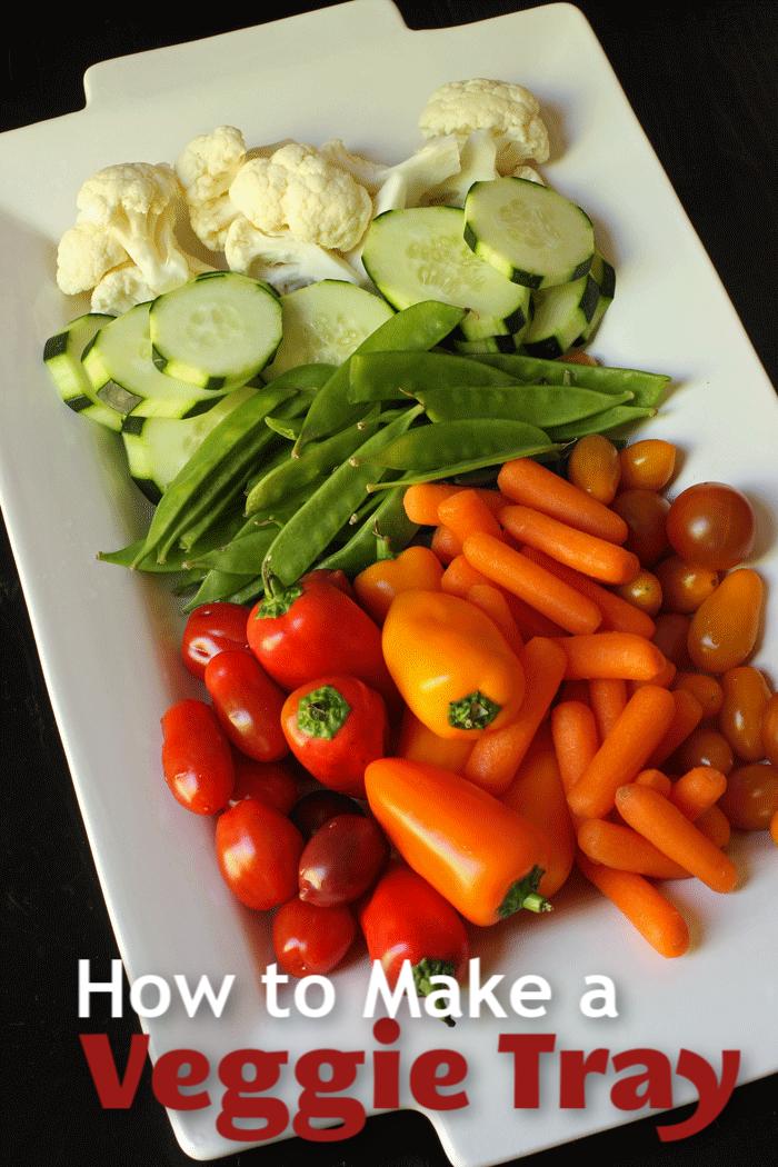 How to Make a Veggie Tray   Good Cheap Eats