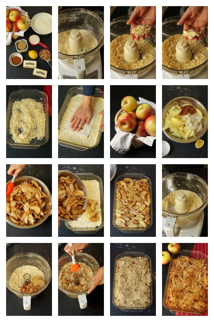 step by step photos of slab apple pie