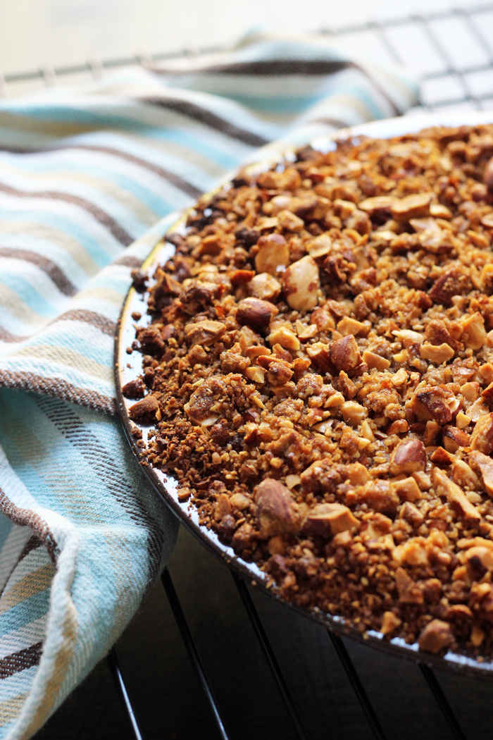 Streusel Topped Pumpkin Pie Recipe