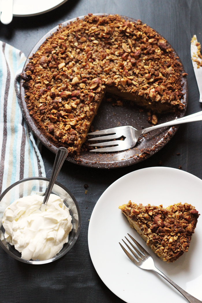 Streusel-Topped Pumpkin Pie | Good Cheap Eats