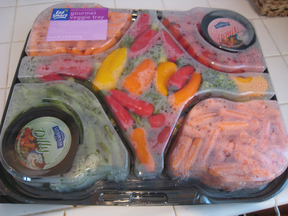 You Can Do Better than a Purchased Veggie Tray