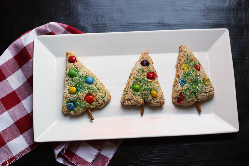 Christmas Tree Scones | Good Cheap Eats