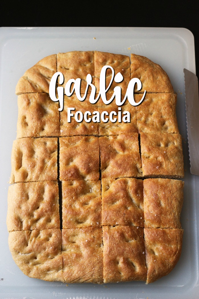 Garlic Focaccia | Good Cheap Eats