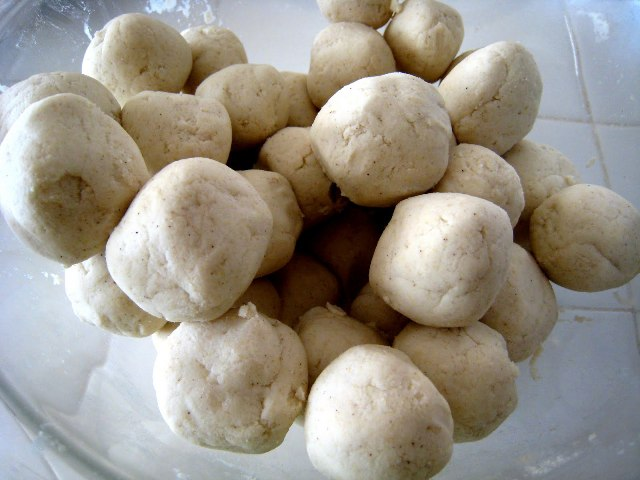 Tortilla Dough Balls