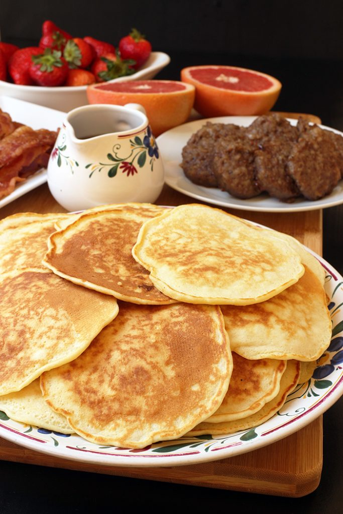 Basic Pancake Recipe An Easy Pantry Staple Good Cheap Eats