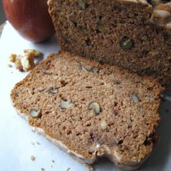 applesauce walnut bread