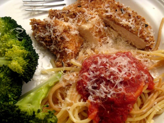 Chicken Parmesan Our First Date Dinner Good Cheap Eats