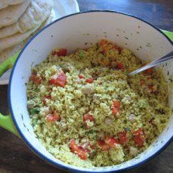 Couscous Salad in a pot