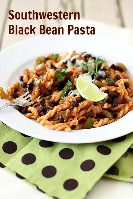 Southwestern Black Bean Pasta | Good Cheap Eats