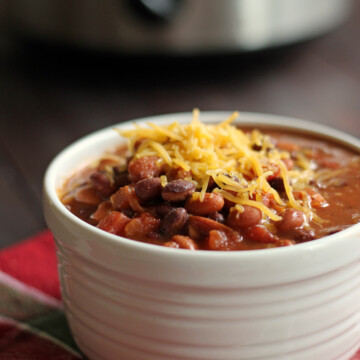 taco soup in bowl