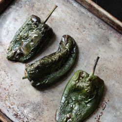 How to Roast Chiles in the Oven