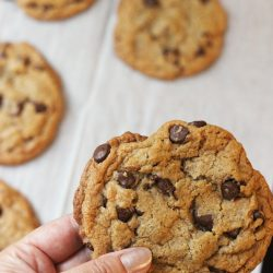 Thick and Chewy Chocolate Chip Cookies Recipe | Good Cheap Eats