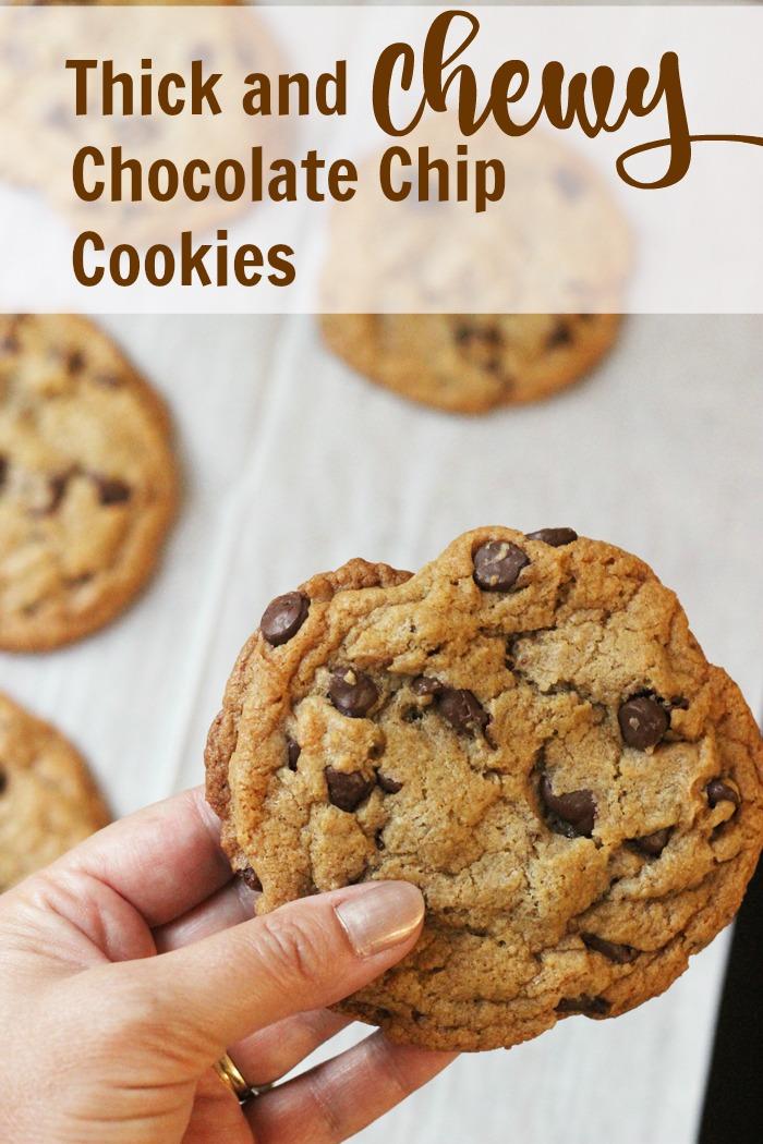 Tahini Chocolate Chip Cookies Recipe