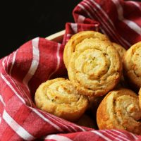 Garlic-Parmesan Swirl Biscuits