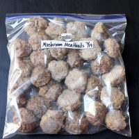meatballs in freezer bag