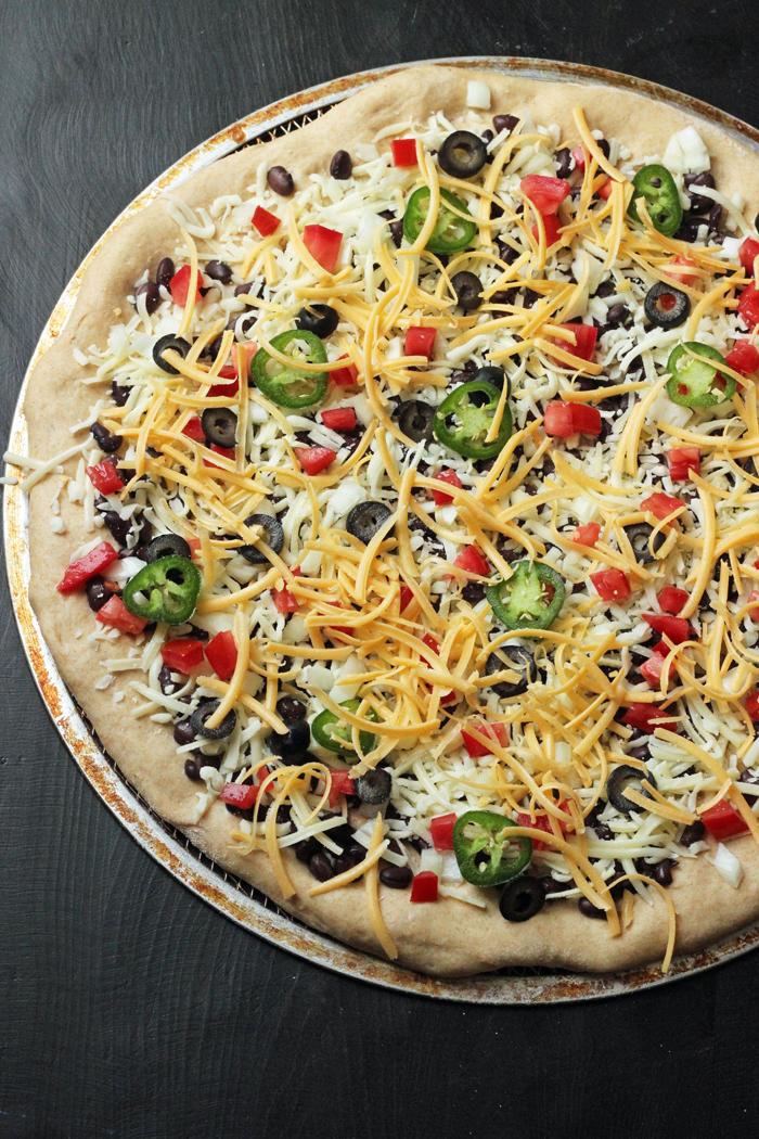 Burrito Pizza | Good Cheap Eats