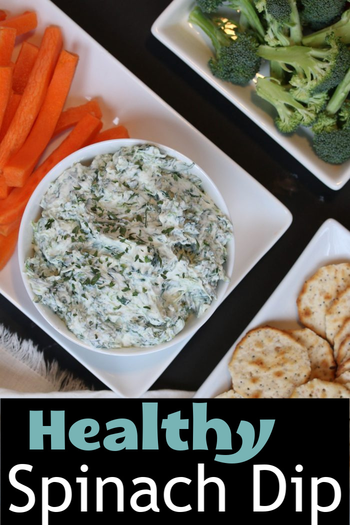 Healthy Spinach Dip | Good Cheap Eats