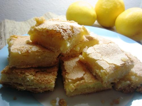 Lemon ginger bars