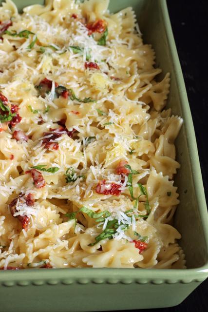 tomato brie pasta