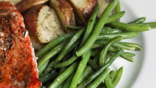 Easy Garlic Green Beans