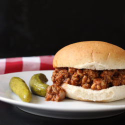 Sloppy Joes from Scratch: A Very Good Cheap Eat