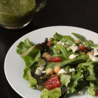 Spring Greens Salad with Pepitas & Feta