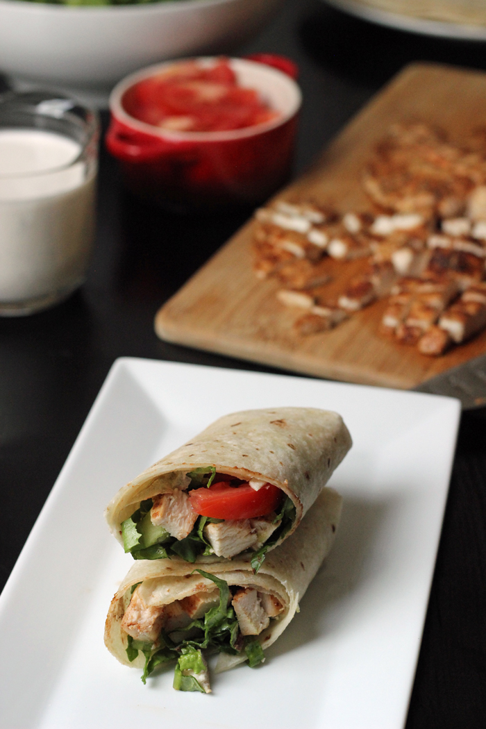 Buffalo Chicken Wraps | Good Cheap Eats
