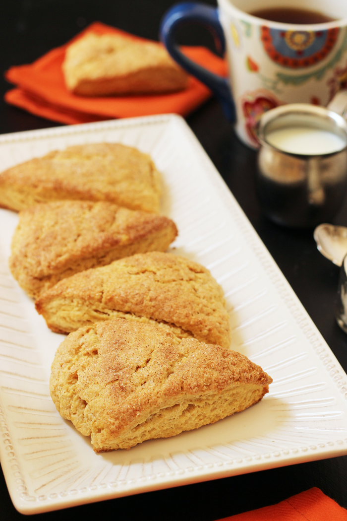 Pumpkin Scones | Good Cheap Eats