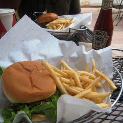 Burger House dinner