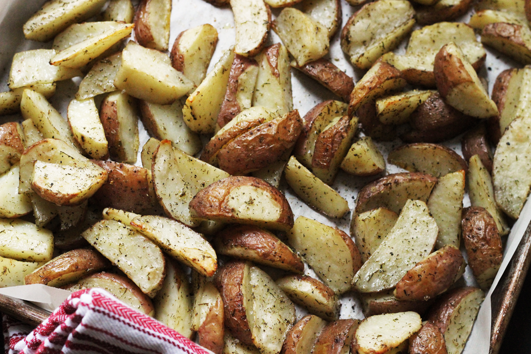Simple Dill Potatoes   Good Cheap Eats