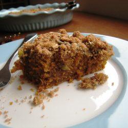 Pumpkin Coffeecake with Pepitas