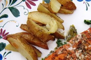 Simple Dill Roasted Potatoes 3