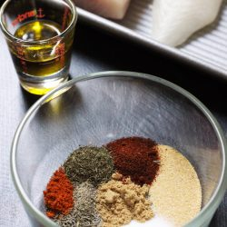 Warm & Spicy Fish Rub Recipe